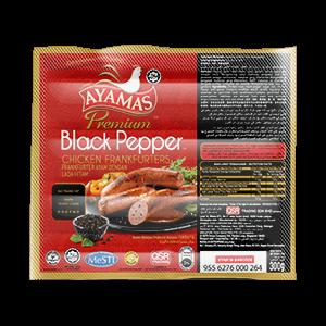 Ayamas Black Pepper Frankfurters