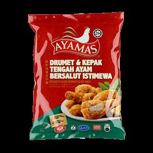 Ayamas Breaded Drummets _ Mid Wings