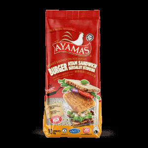 Ayamas Breaded Sandwich Burger