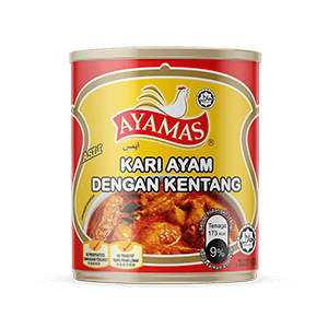 Ayamas Chic Curry w Potatoes Ori