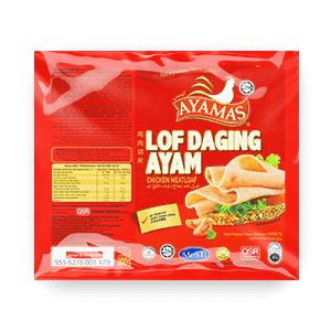 Ayamas Chicken Meatloaf