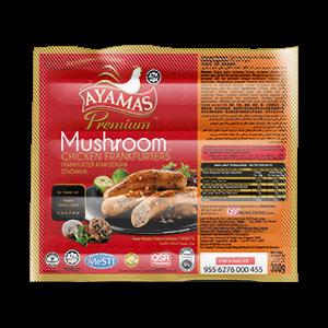 Ayamas Mushroom Frankfurters