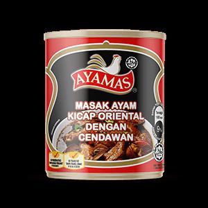 Ayamas Oriental Sauce Chic w Mushroom