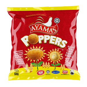 Ayamas Poppers Cheese