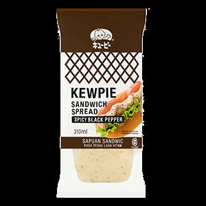 Kewpie Spicy Black Pepper Sandwich Spread 310ml