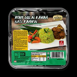 RTE Gulai Kawah Chicken Kahwin Rice